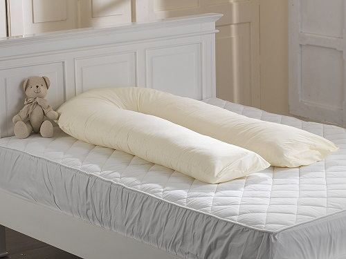 ancashire Textiles Big C U Maternity Pregnancy Support Sleep Aid Hollowfibre Filled Pillow